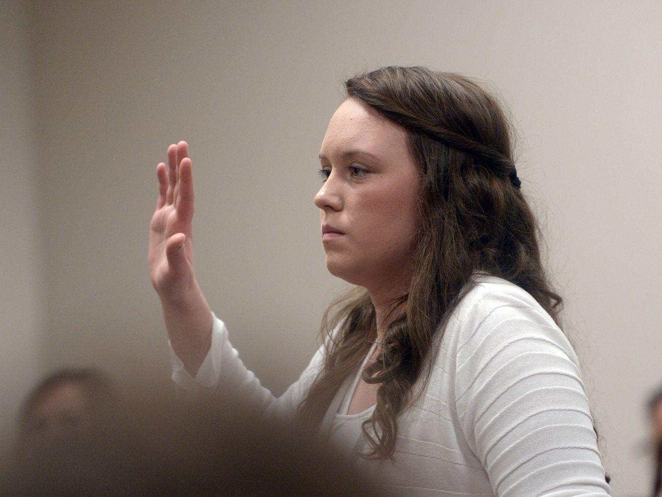 Utah Supreme Court overturns murder conviction for girlfriend of man who shot, killed sergeant