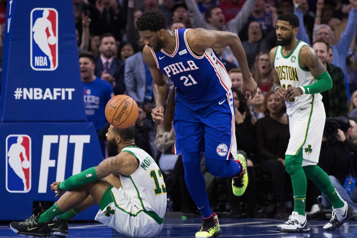 76ers break through and a new host