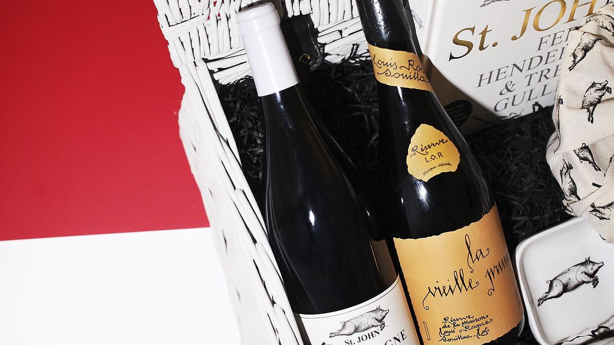 St. John's Christmas hamper curated by Fergus Henderson is one of the greatest London restaurant gifts for Christmas 2019