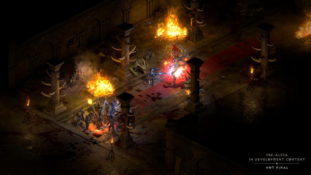 Les joueurs combattent d'anciens ennemis dans Diablo 2
