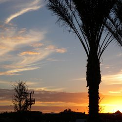 Sunset over Mesa