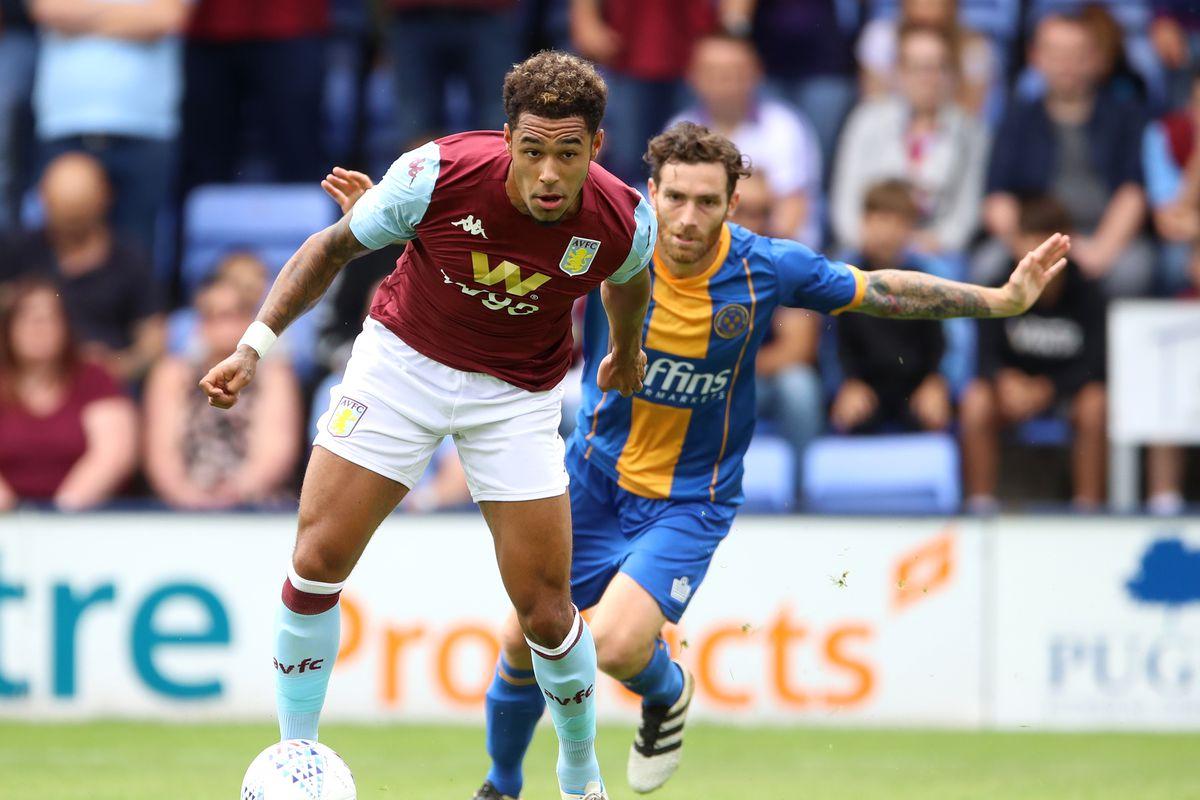 Shrewsbury Town v Aston Villa - Pre-Season Friendly - Montgomery Waters Meadow