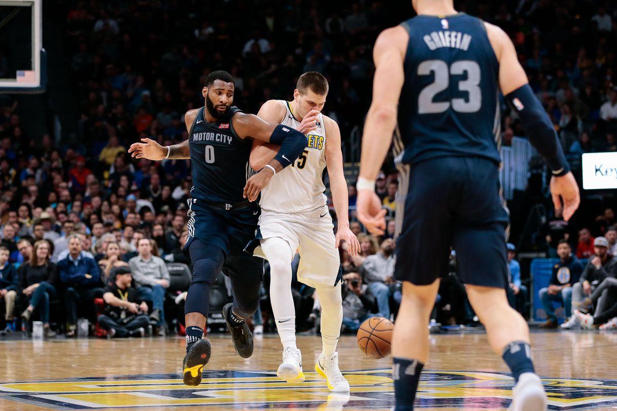 NBA: Detroit Pistons at Denver Nuggets