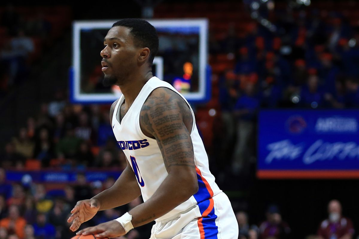 NCAA Basketball: Air Force at Boise State