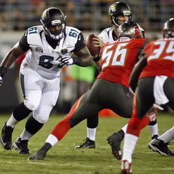 Chaz Sutton trying to get to Bortles.