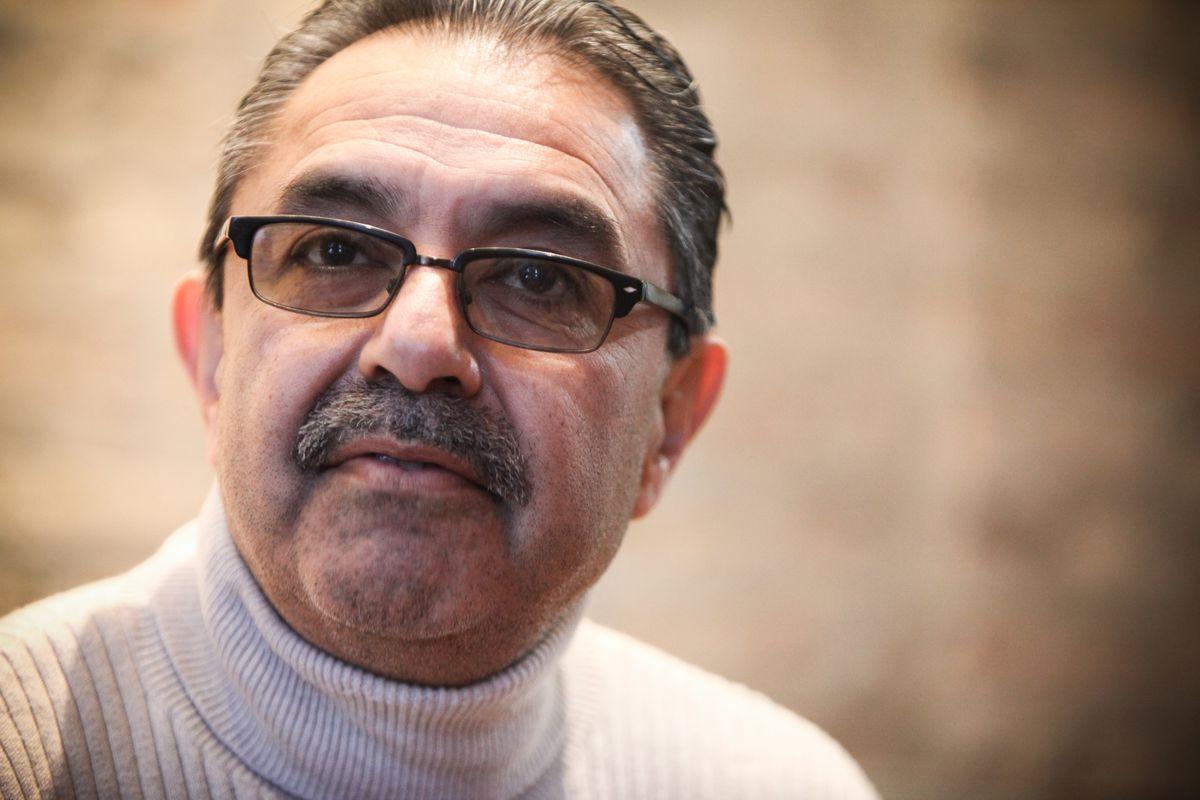 Ambrosio Medrano discusses his prison sentence with the Sun-Times in 2014.