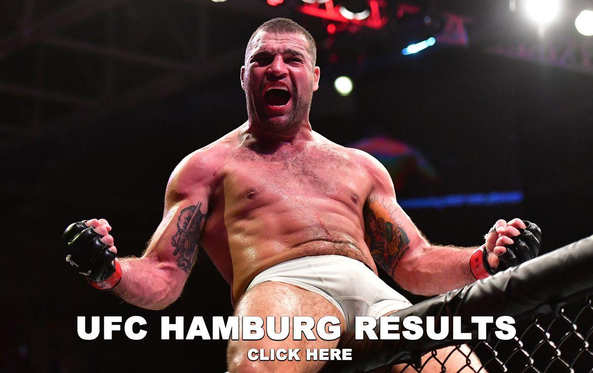 UFC Hamburg Results