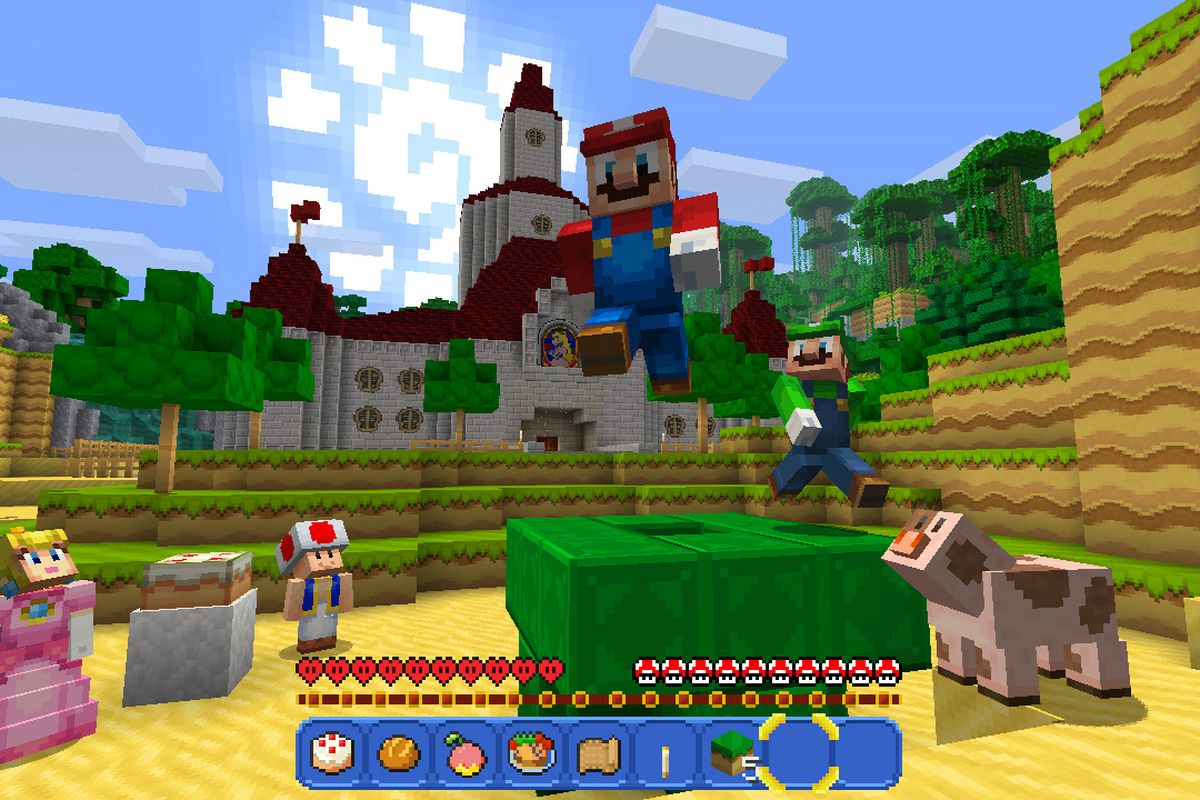 Minecraft Is A Perfect Fit For The Nintendo Switch The Verge - Minecraft spiele switch