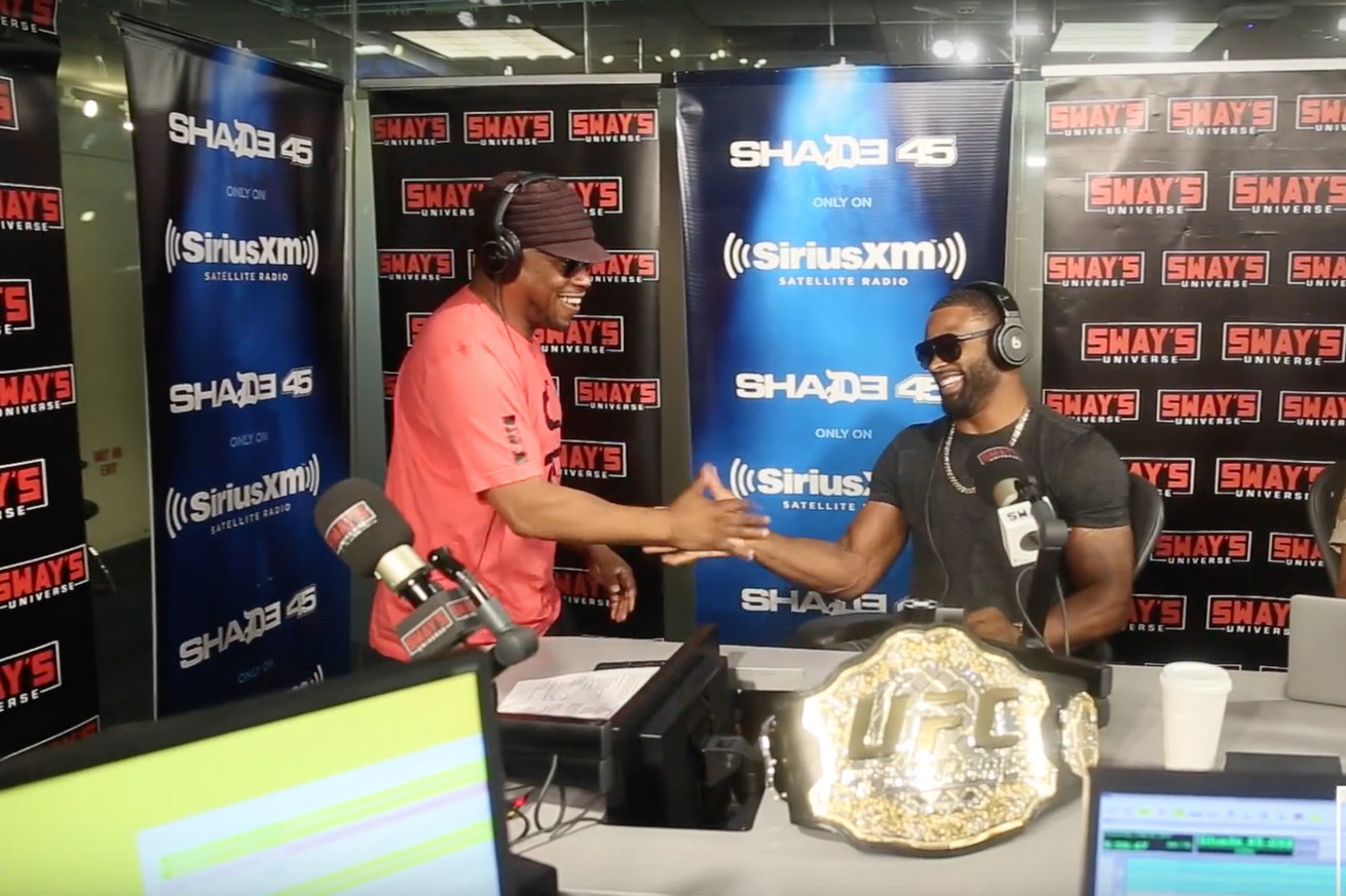 The Weekly Grind: Tyron Woodley freestyles live on Sway in the Morning, Cyborg and Garcia jump teammate