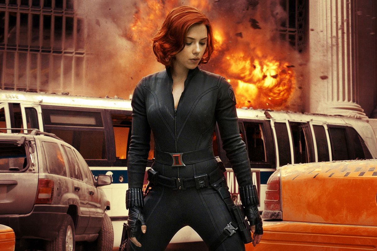 Comic Con Marvel S Black Widow Movie Footage Release Date