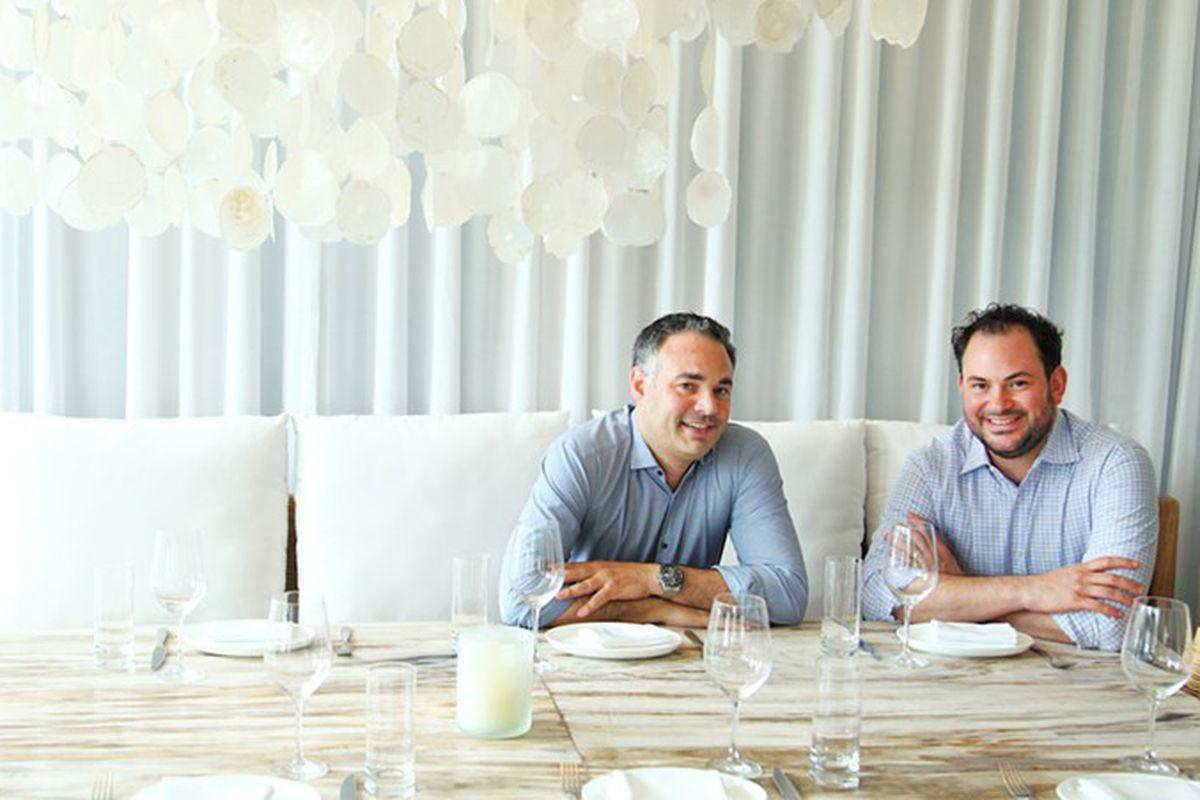 Andy Tsavos and Joshua Wahler