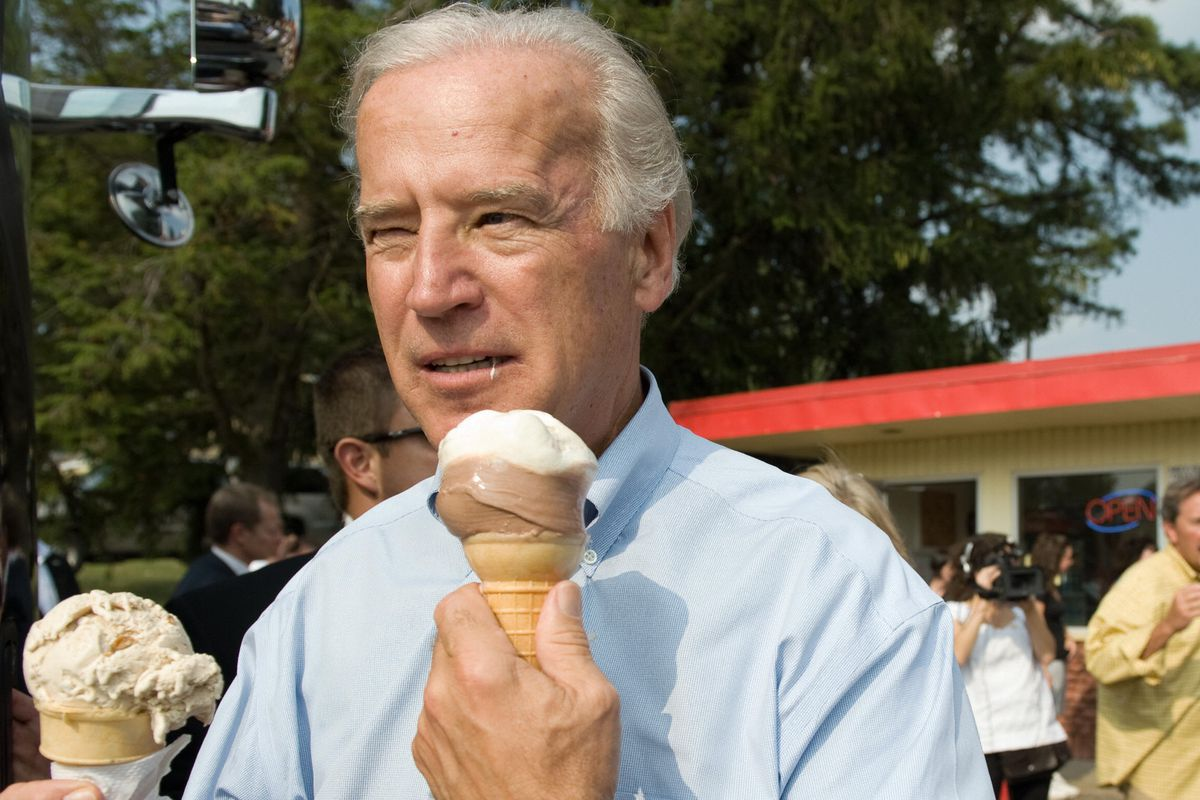 US vice presidential nominee Senator Joe