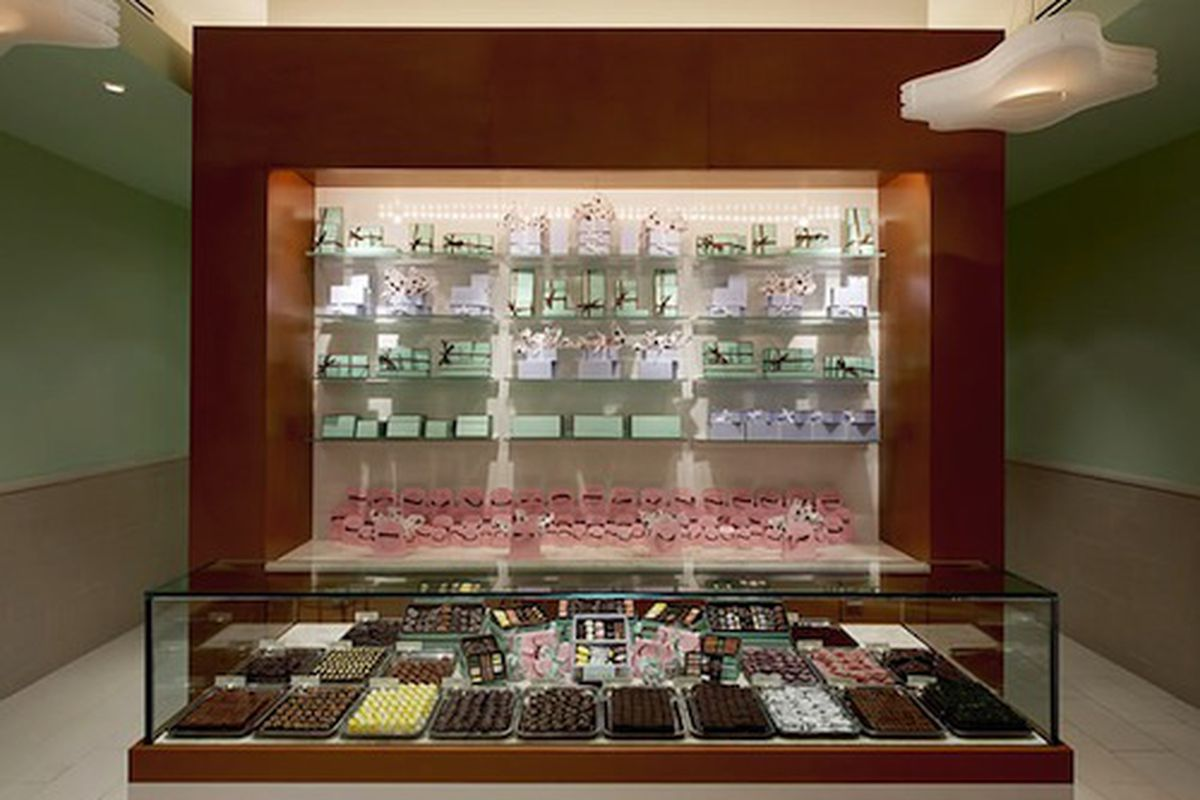 The Chocolate Counter at Sucre.
