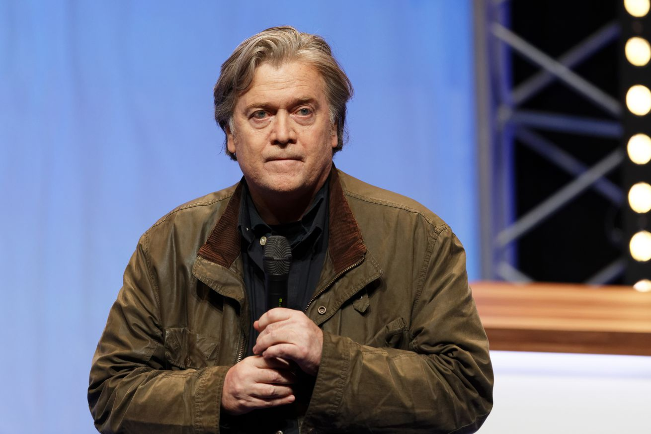 steve bannon is pushing anti immigrant policies at an upcoming tech conference