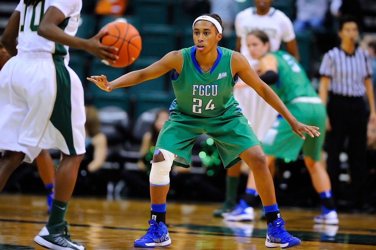 Brittany Kennedy, recently listed on the Nancy Lieberman Award watch list, had a strong game at Kennesaw State.