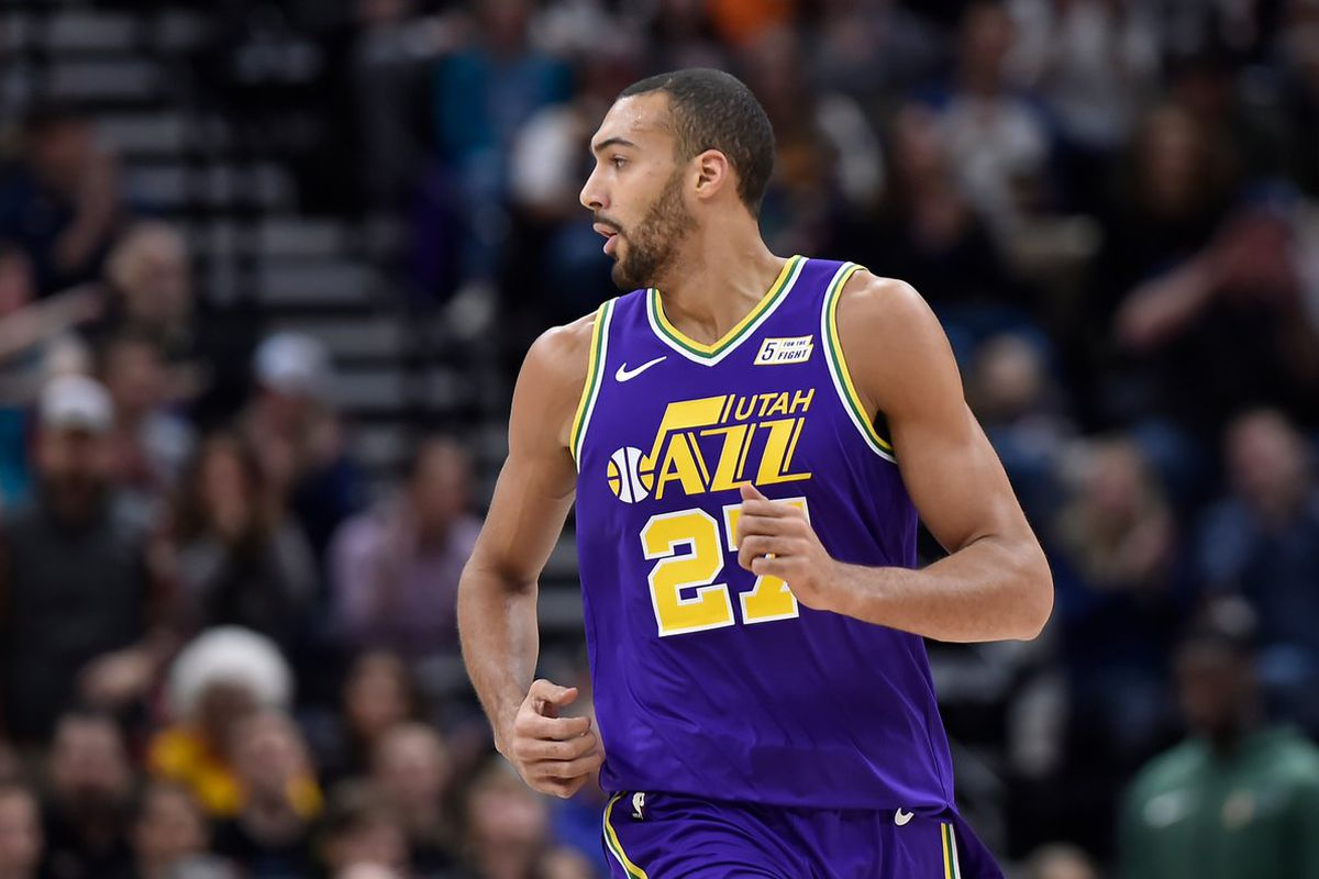 Rudy Gobert who had criticized referees just two games ago for not getting  a good whistle—and getting ... 1aeb054e3