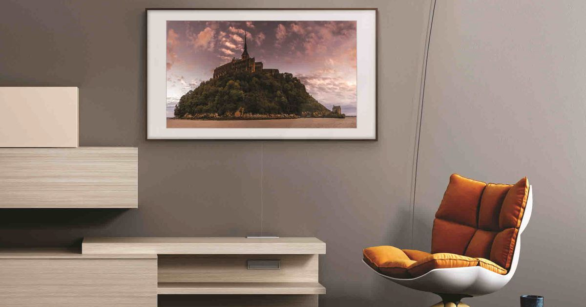 Samsungs Latest Frame Tv Features Improved Hdr And New Smart