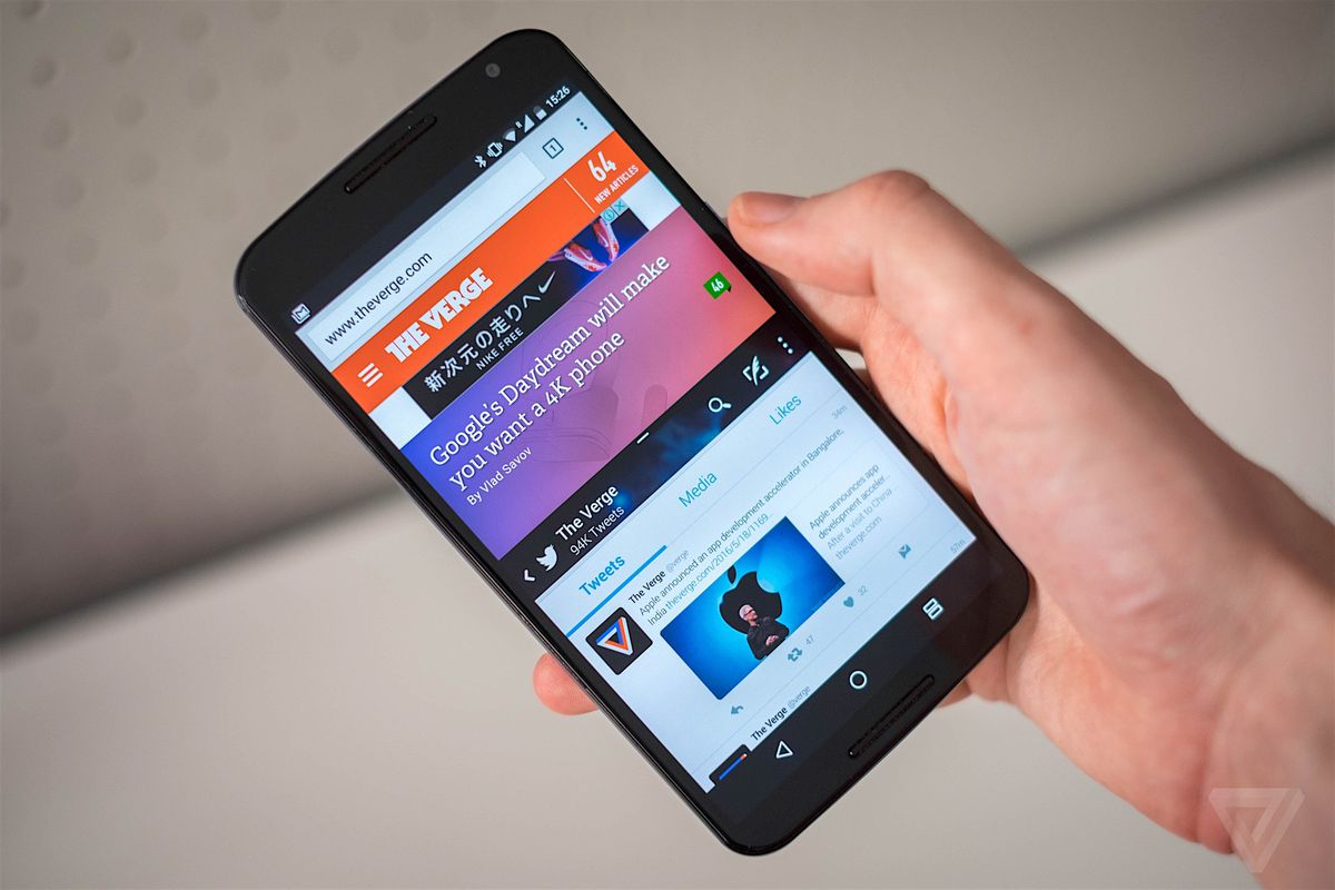 The 8 biggest new features in android n the verge android n on nexus 6 biocorpaavc Image collections