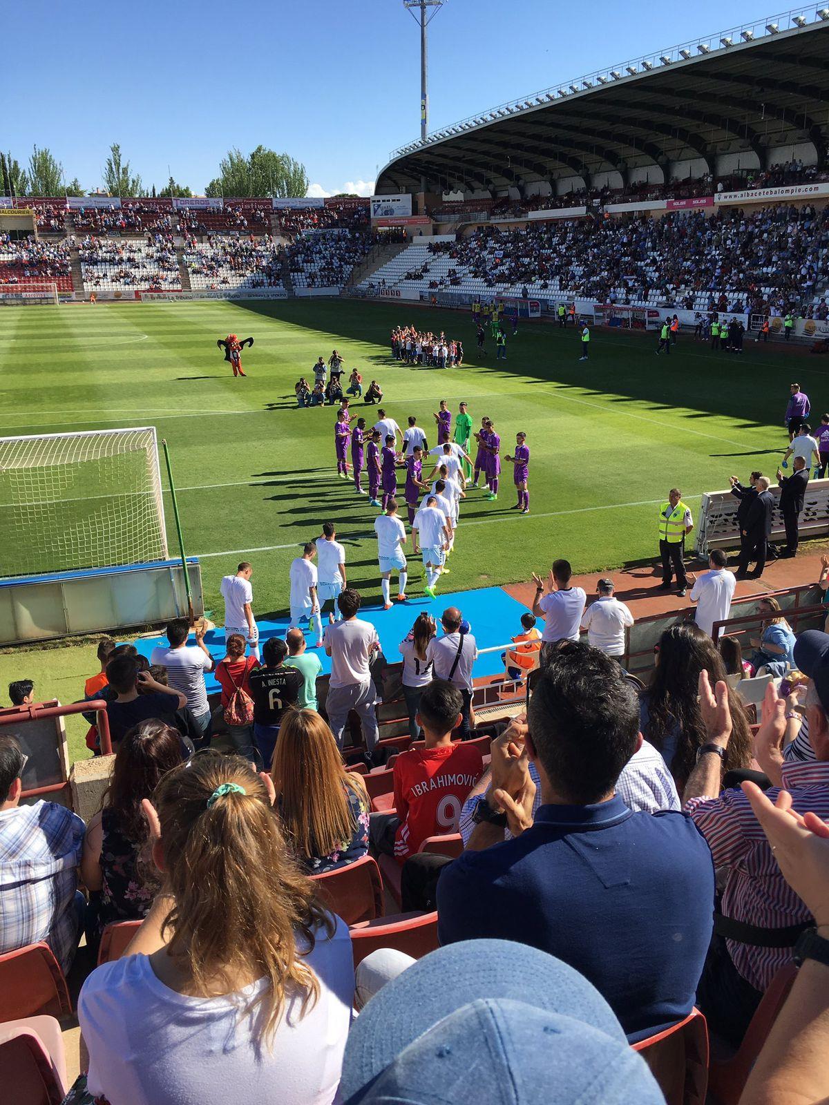 Albacete 0 0 Real Madrid Castilla Managing Madrid