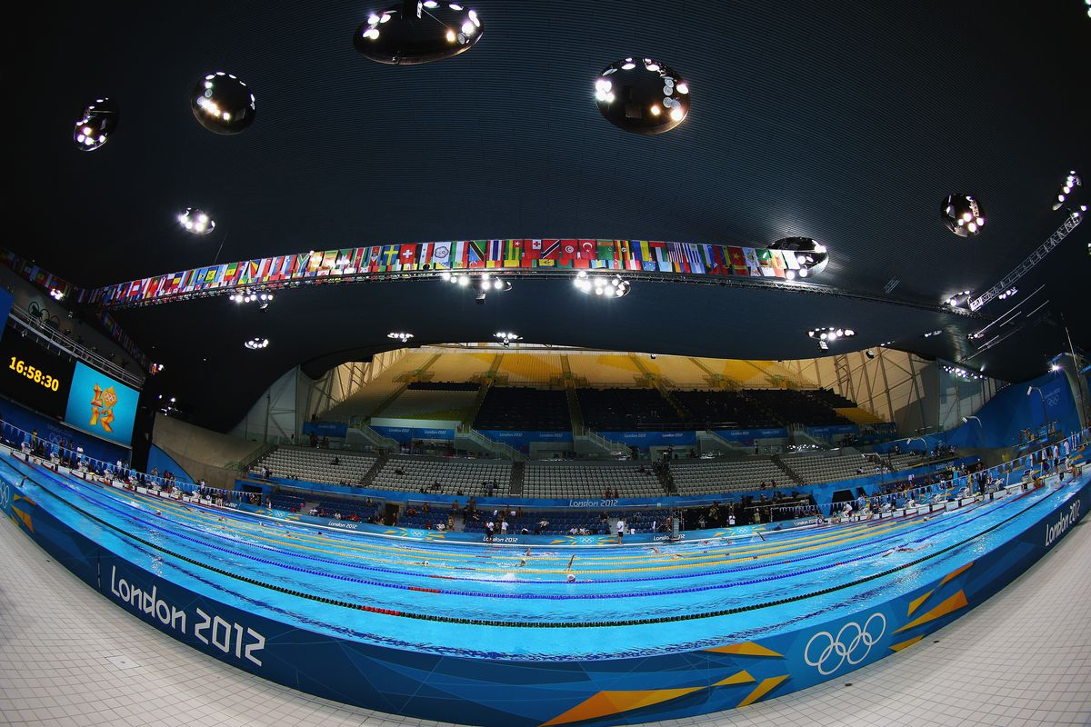 2012 olympics swimming results from day 1 in the pool