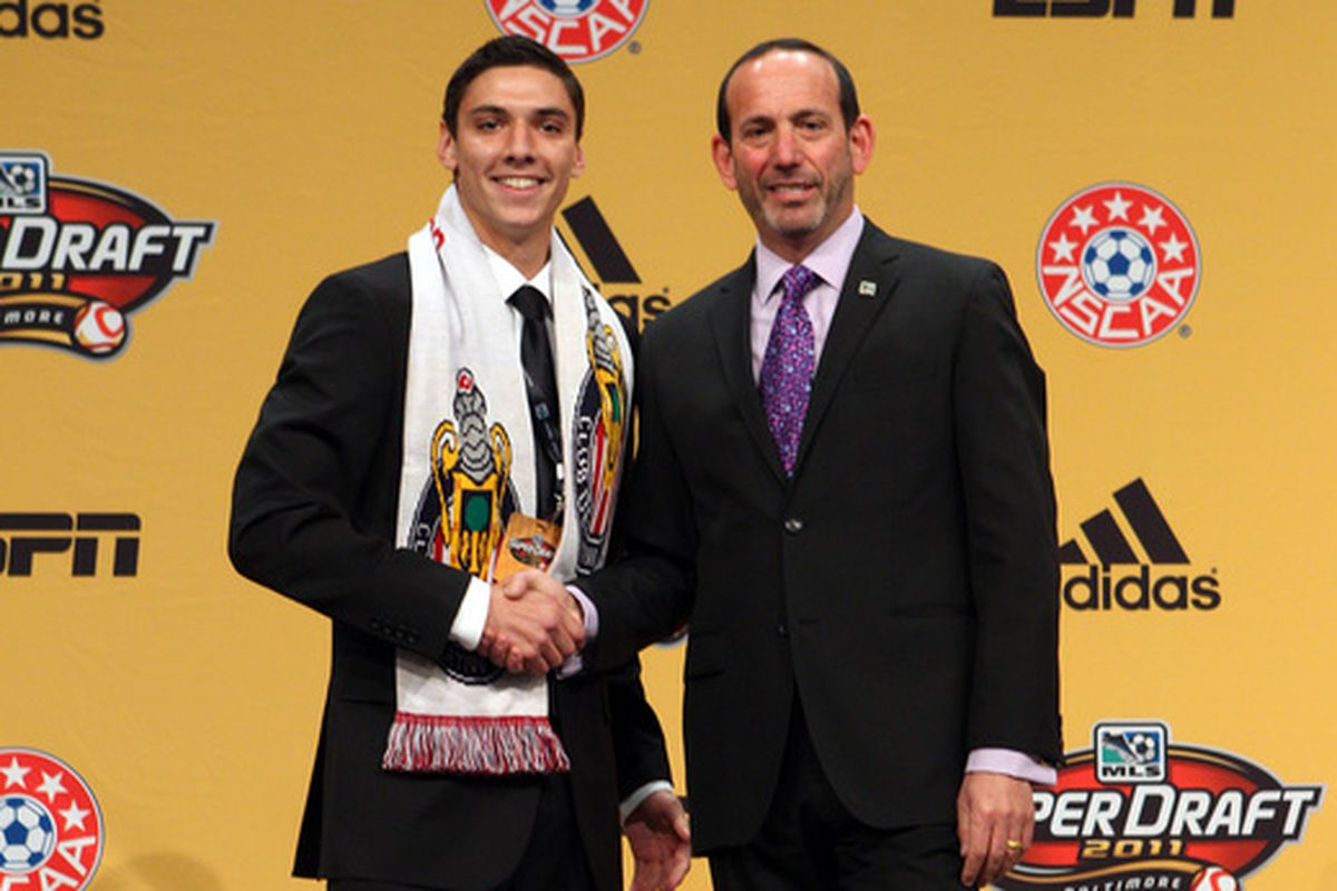 Valentin is just one of the Akron players to make it to MLS teams in recent years.