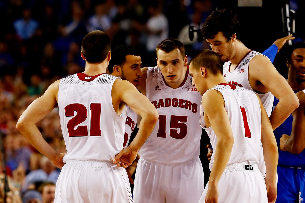 College Basketball Rankings Wisconsin Opens No 4 In
