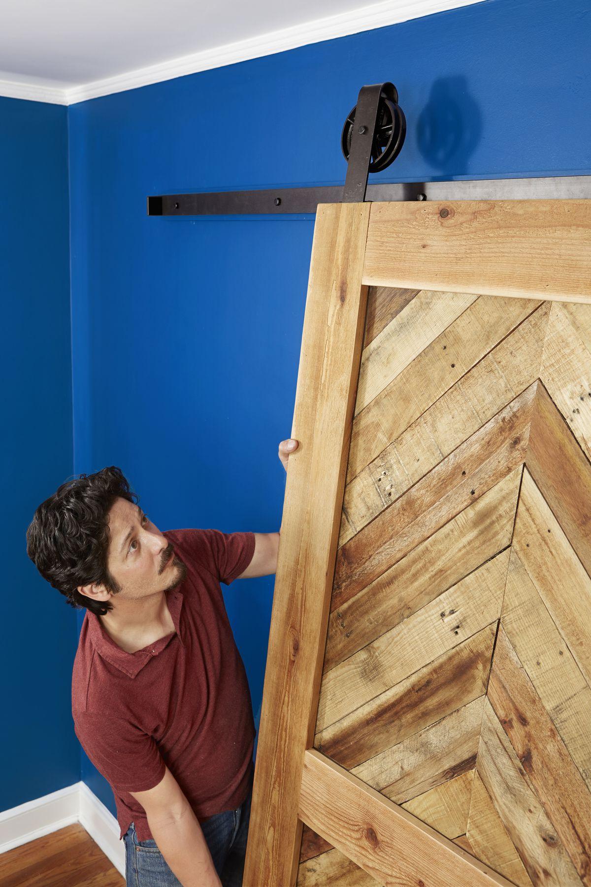 Roll Door on Sliding Barn Door