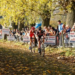 Lars and Pauwels chase in vain