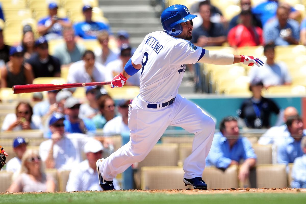 Shane Victorino will provide an upgrade in left field for the Dodgers.