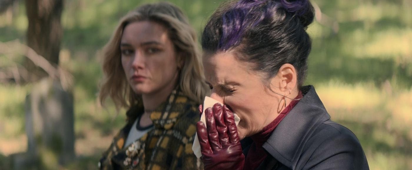 Who is Valentina Allegra de Fontaine in Black Widow's credits scene? -  Polygon