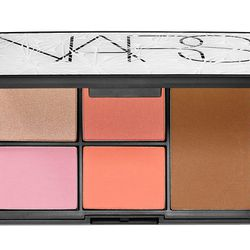 To brighten up her face after a <i>loooong</i> sleepless night, she'll love the <b>NARS Virtual Domination Cheek Palette</b>. This limited-edition holiday cheek palette contains four blushes and the cult-favorite Laguna bronzing powder. Available for $65