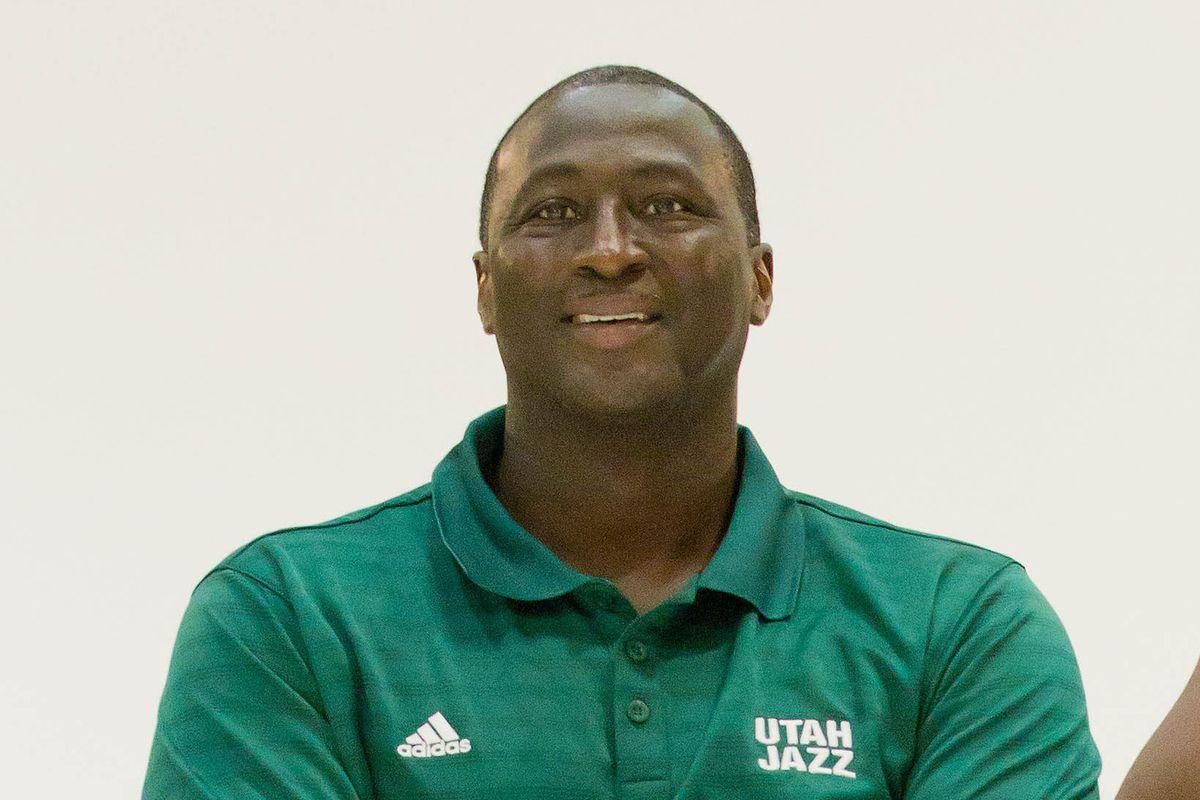 Utah Jazz Head Coaches Tyrone Corbin and Quin Snyder both found