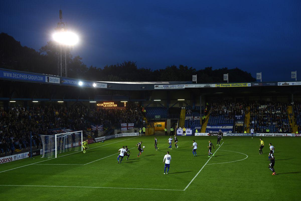 Bury's home ground, Gigg Lane