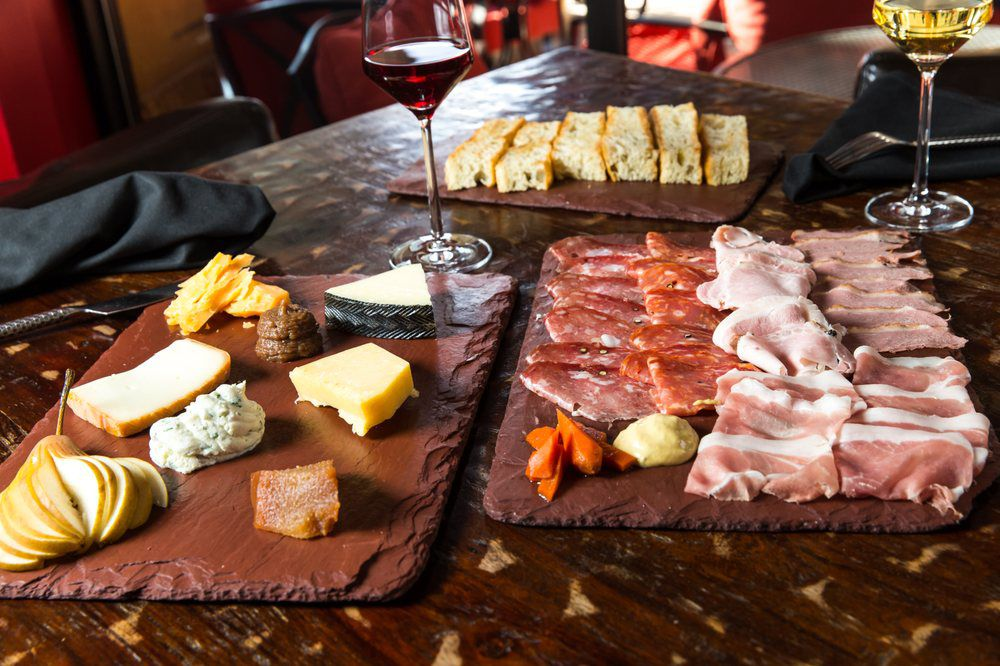 Double Helix Wine & Whiskey Lounge charcuterie