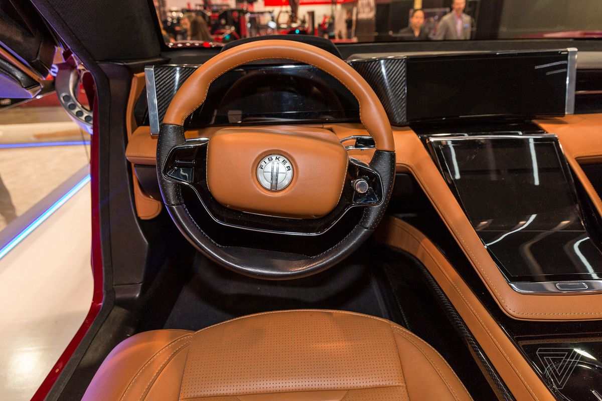 ... himself with keeping the EMotion as a low-slung sedan that's slightly longer than a BMW 5 series, Fisker says he wanted a generously spacious interior.