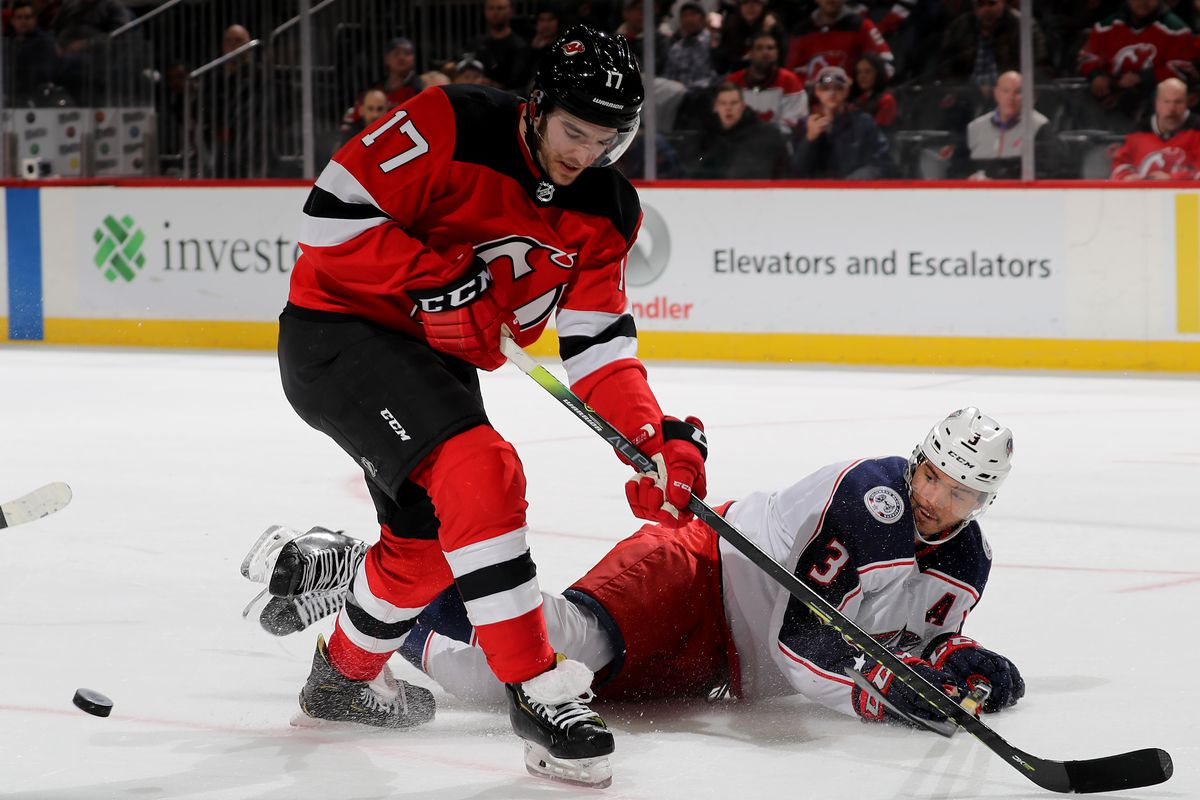 Shorthanded New Jersey Devils Edged in a Shootout by Sluggish Columbus Blue  Jackets 9bfbf1816