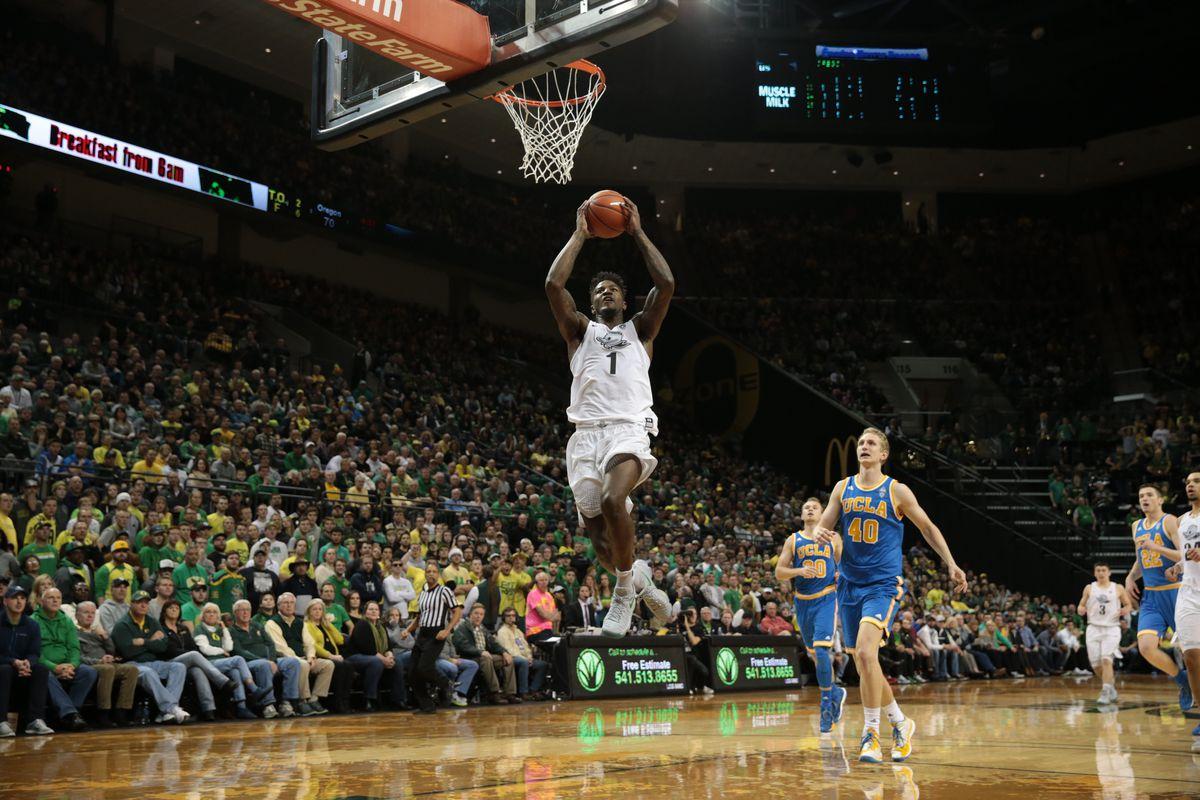 NCAA Basketball: UCLA at Oregon