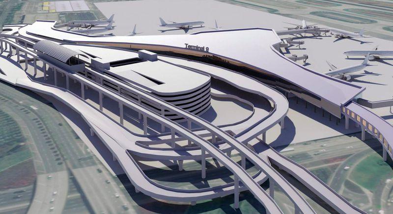 LAX Terminal 9