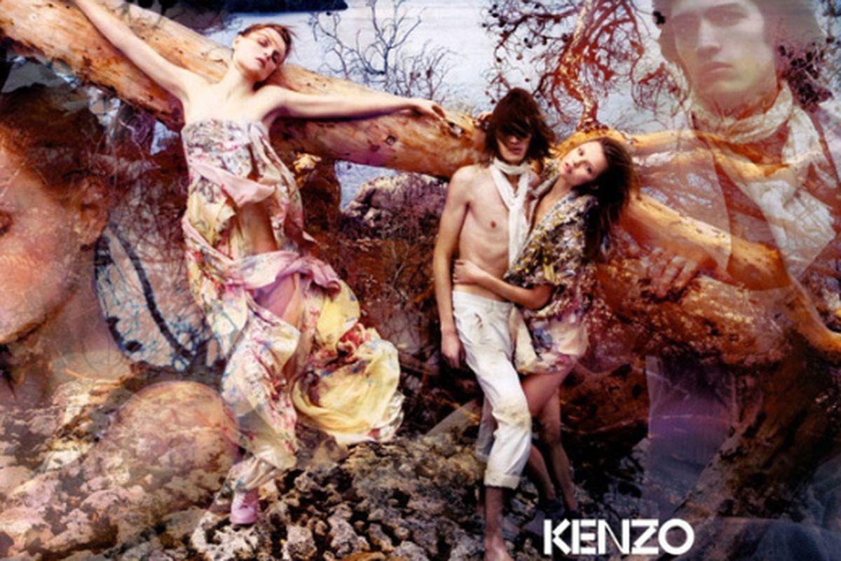 "Kenzo SS09 ad campaign via <a href=""http://www.flickr.com/photos/amatamoda/"">amatamoda</a>/flickr""]"