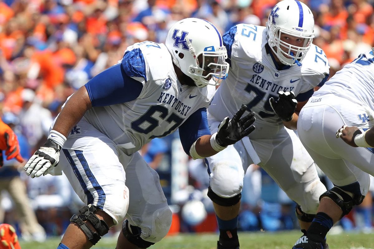 Larry Warford is just one of the Wildcat seniors playing their final home game at Commonwealth