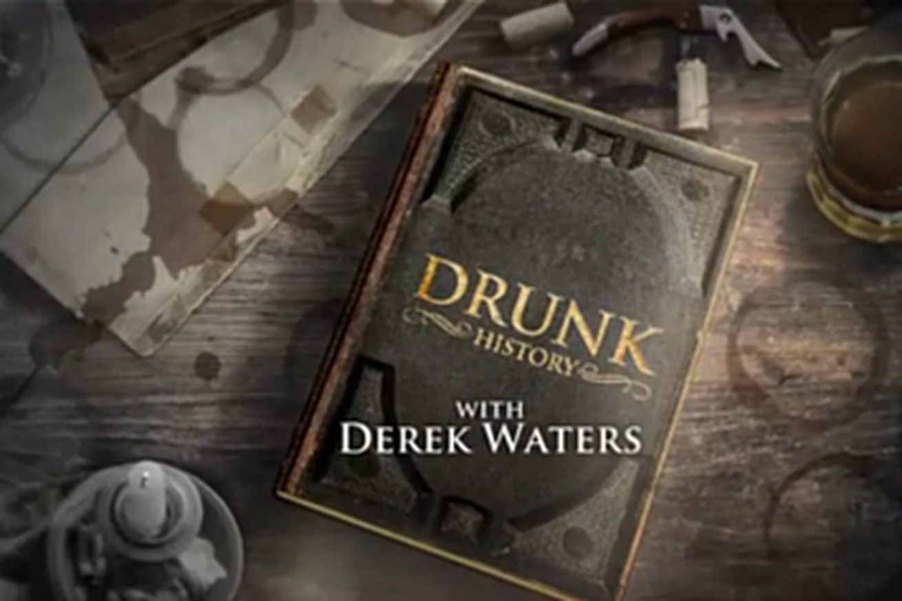 Drunk History.0 - Secret Base Reviews: Drunk History