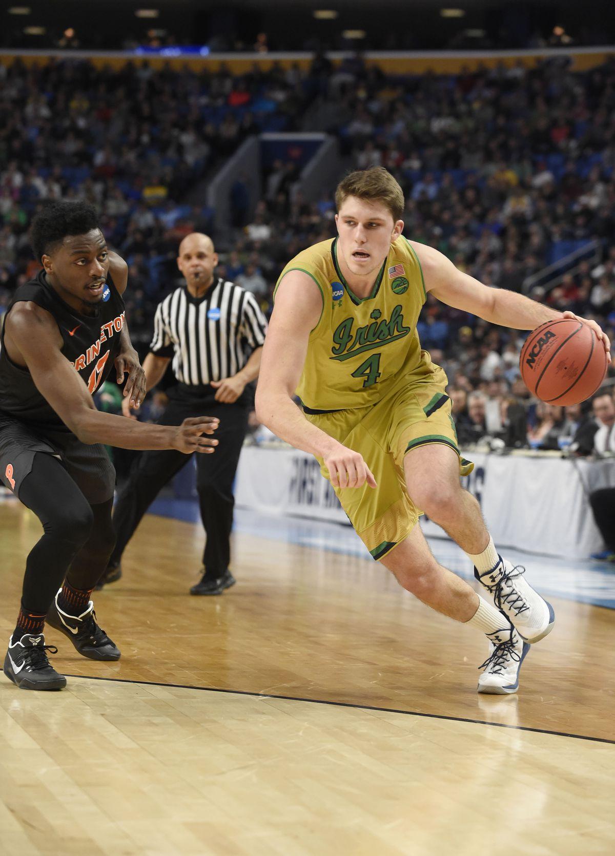 NCAA Basketball: NCAA Tournament-First Round-Princeton vs Notre Dame