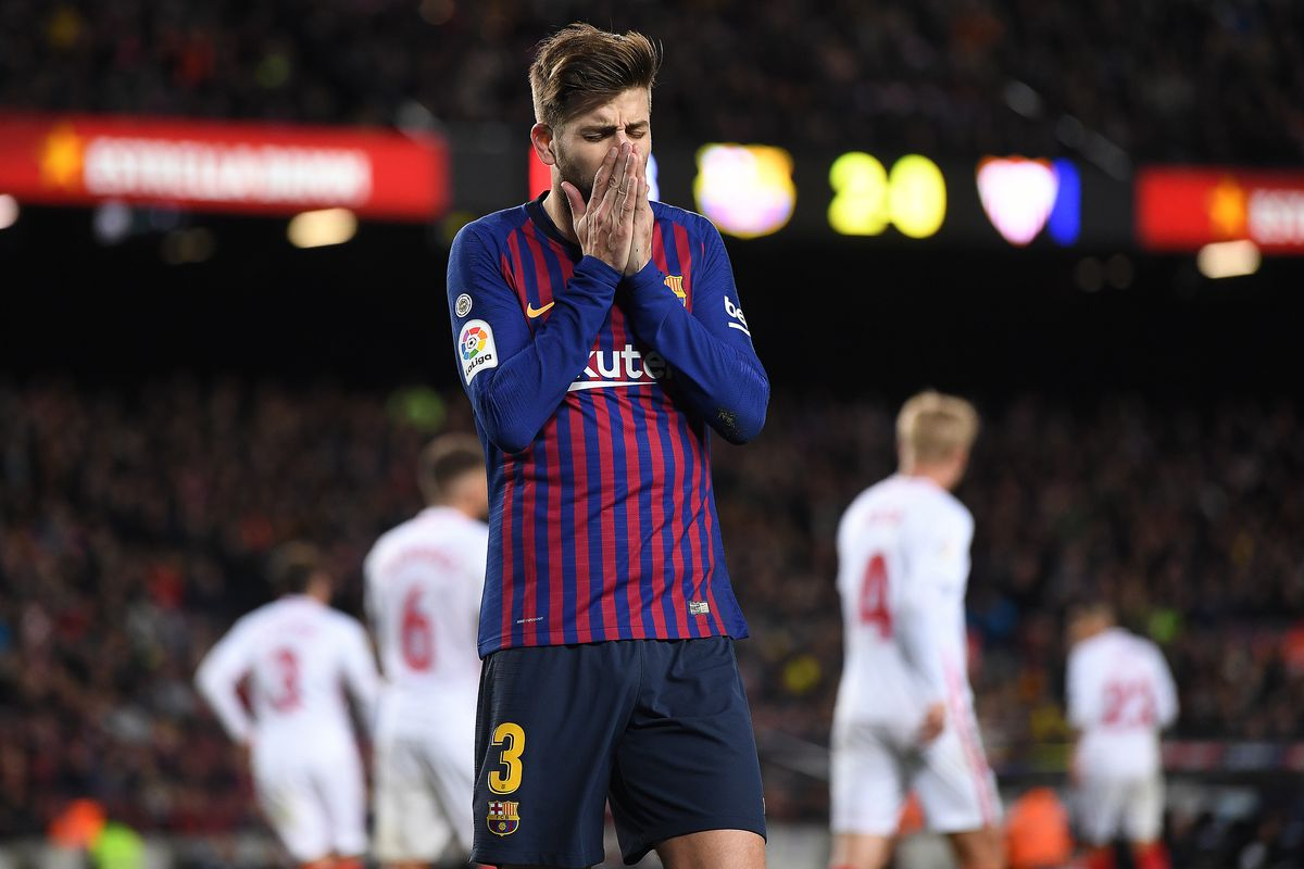 FC Barcelona v Sevilla - Copa del Rey Quarter Final