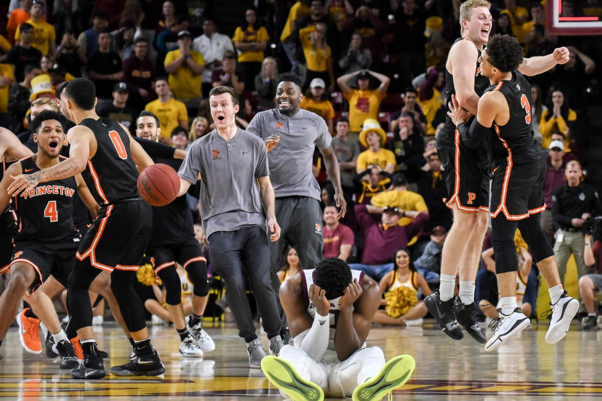 346c91393 ASU Basketball  No. 17 Sun Devils sluggish in upset loss to Princeton