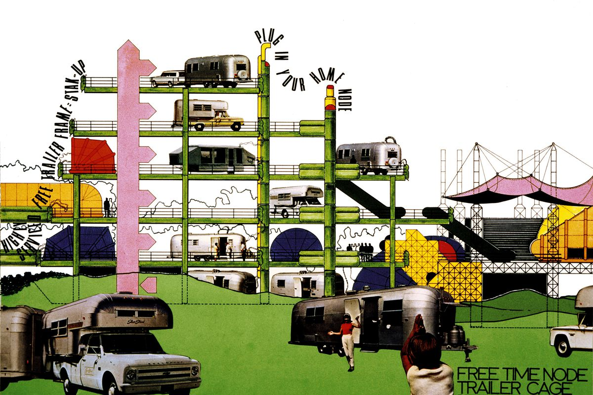 Archigram's fun, flexible, and frivolous guide to the future ... on linear home designs, outrageous home designs, dramatic home designs,