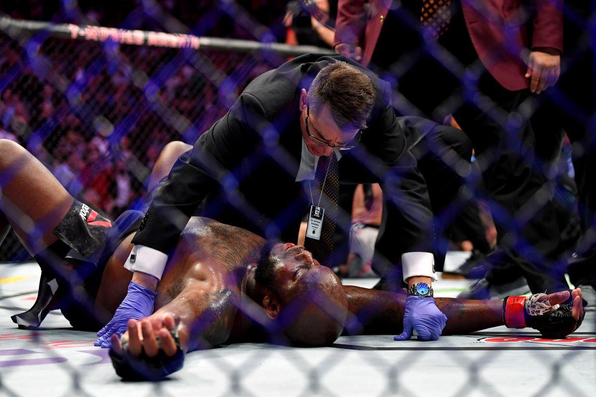 MMA: UFC 229-Lewis vs Volkov