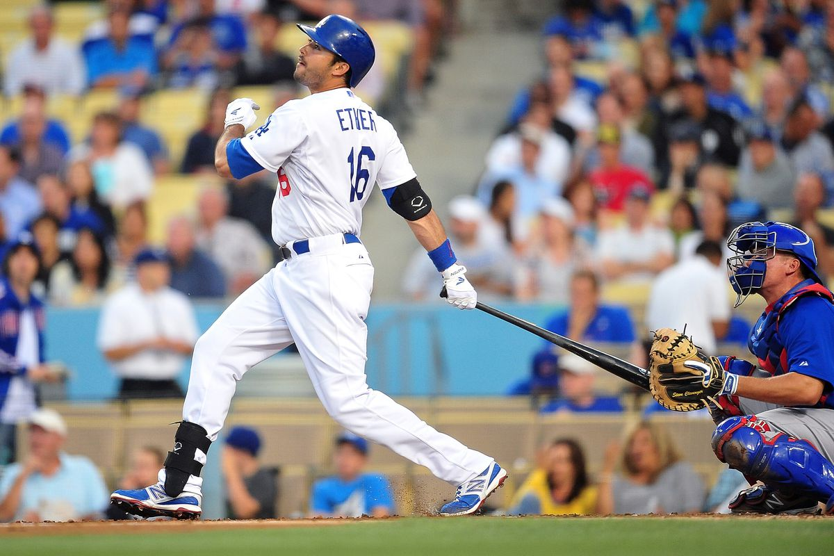 Andre Ethier is one of five Dodgers in history with six seasons of 30 doubles or more, and the only one to do it six years in a row.