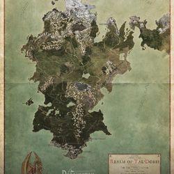 A full world map of Tal'Dorei.