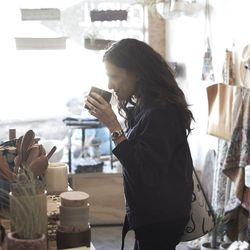 Andrea Linett at General Store, photo by Michael Waring