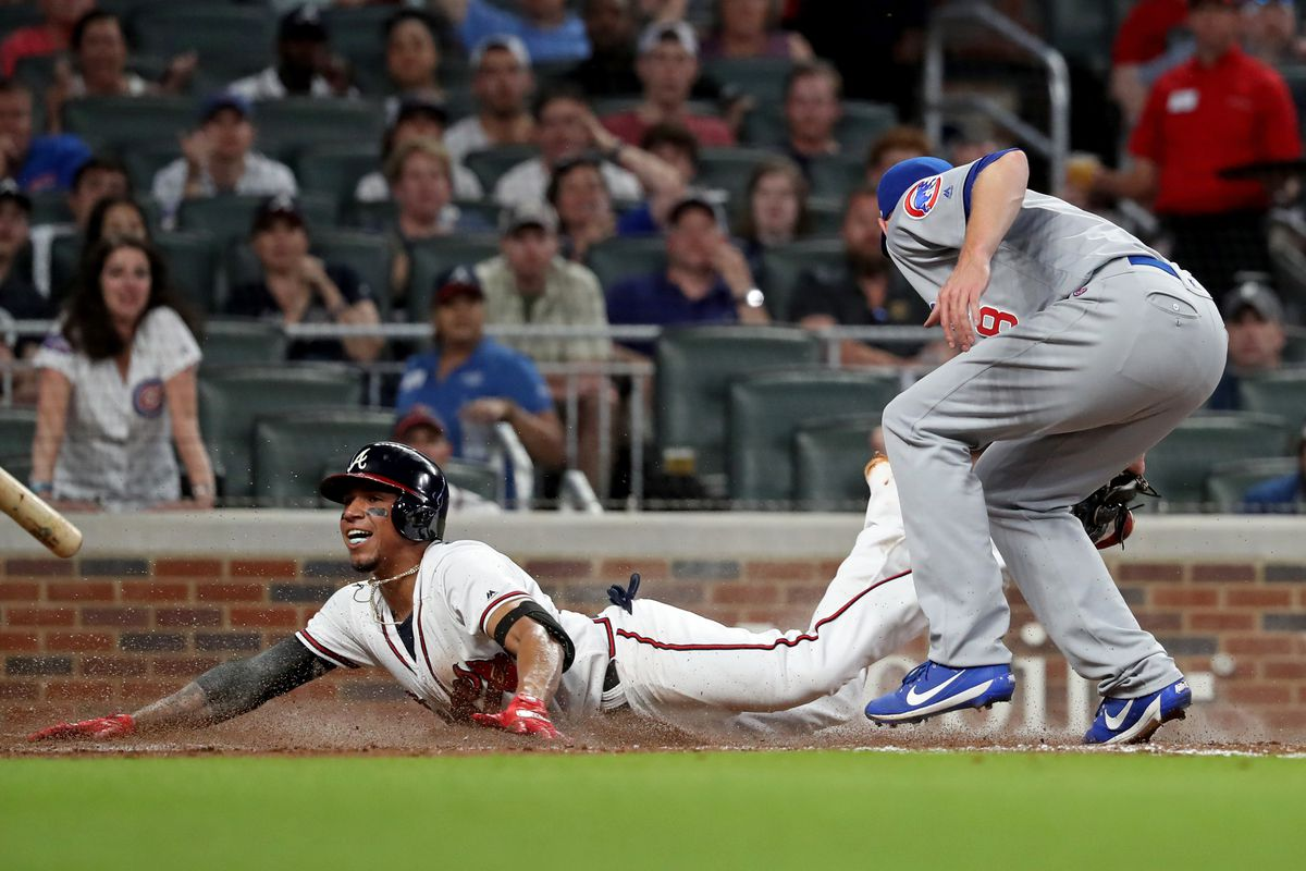 76409ed64 Atlanta Braves blow late lead to Cubs in strange game - Talking Chop